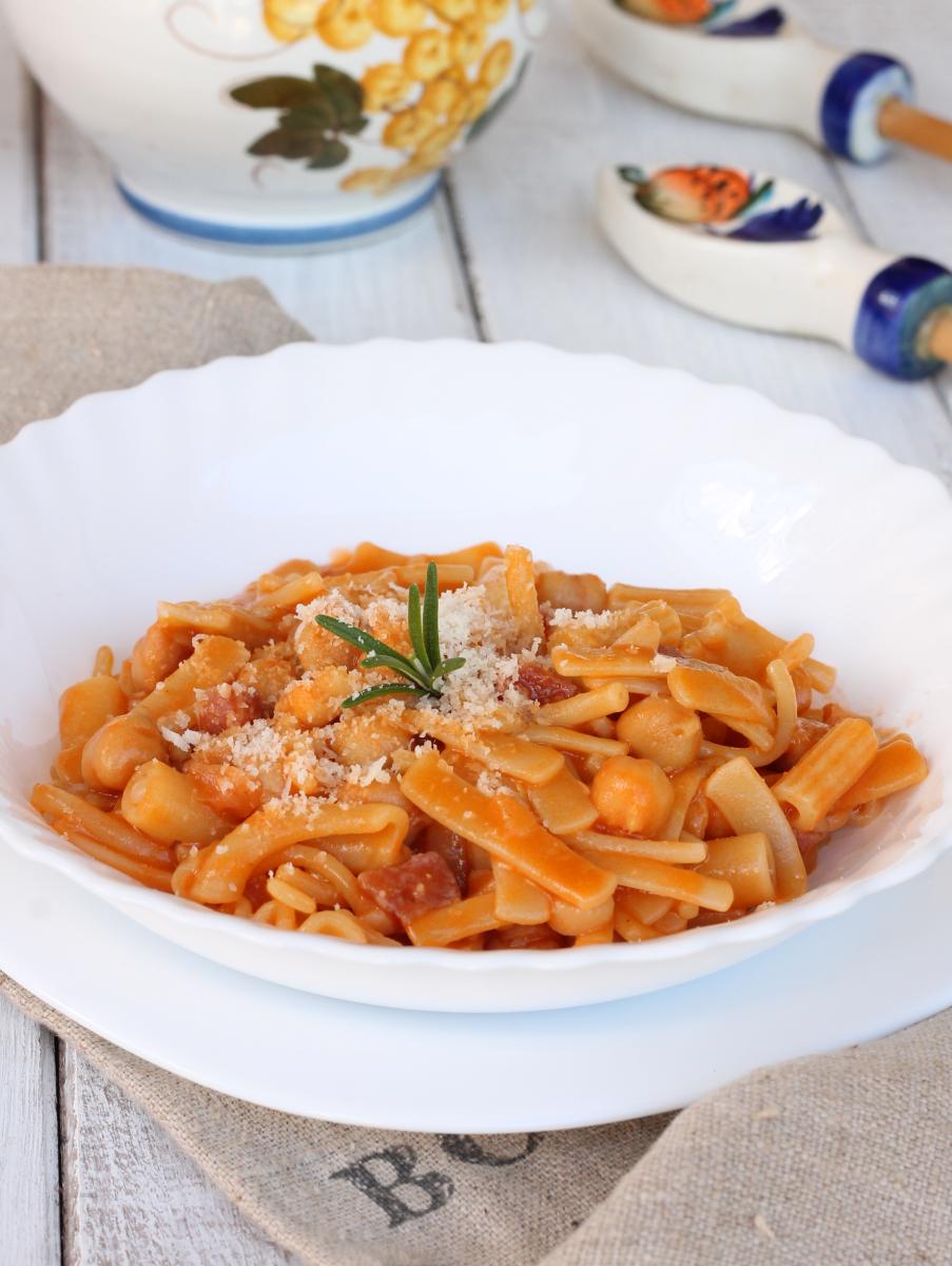 PASTA E CECI bimby ricetta pasta con ceci in scatola | pasta e ceci veloce