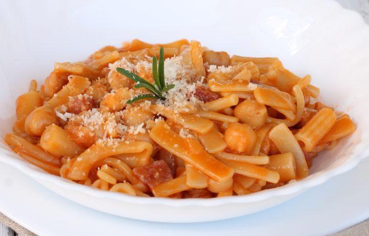 PASTA E CECI ricetta pasta con ceci precotti | pasta e ceci veloce