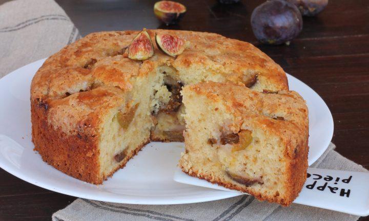 TORTA DI FICHI ricetta torta ai fichi freschi con impasto alla ricotta