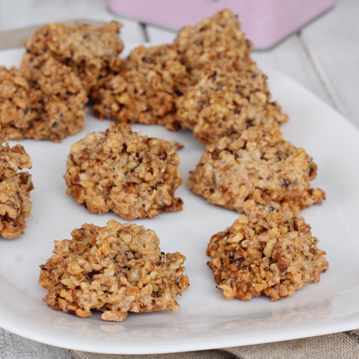 BISCOTTI 3 INGREDIENTI alle nocciole | biscotti con nocciole tritate