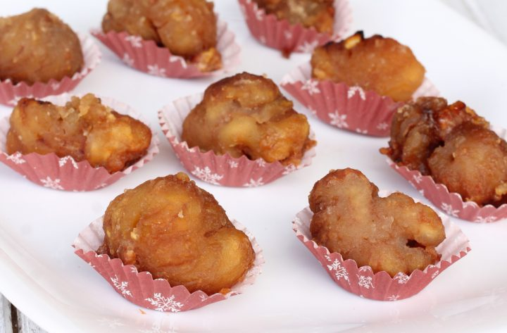 MARRON GLACE' RICETTA VELOCE castagne caramellate | dolce facile