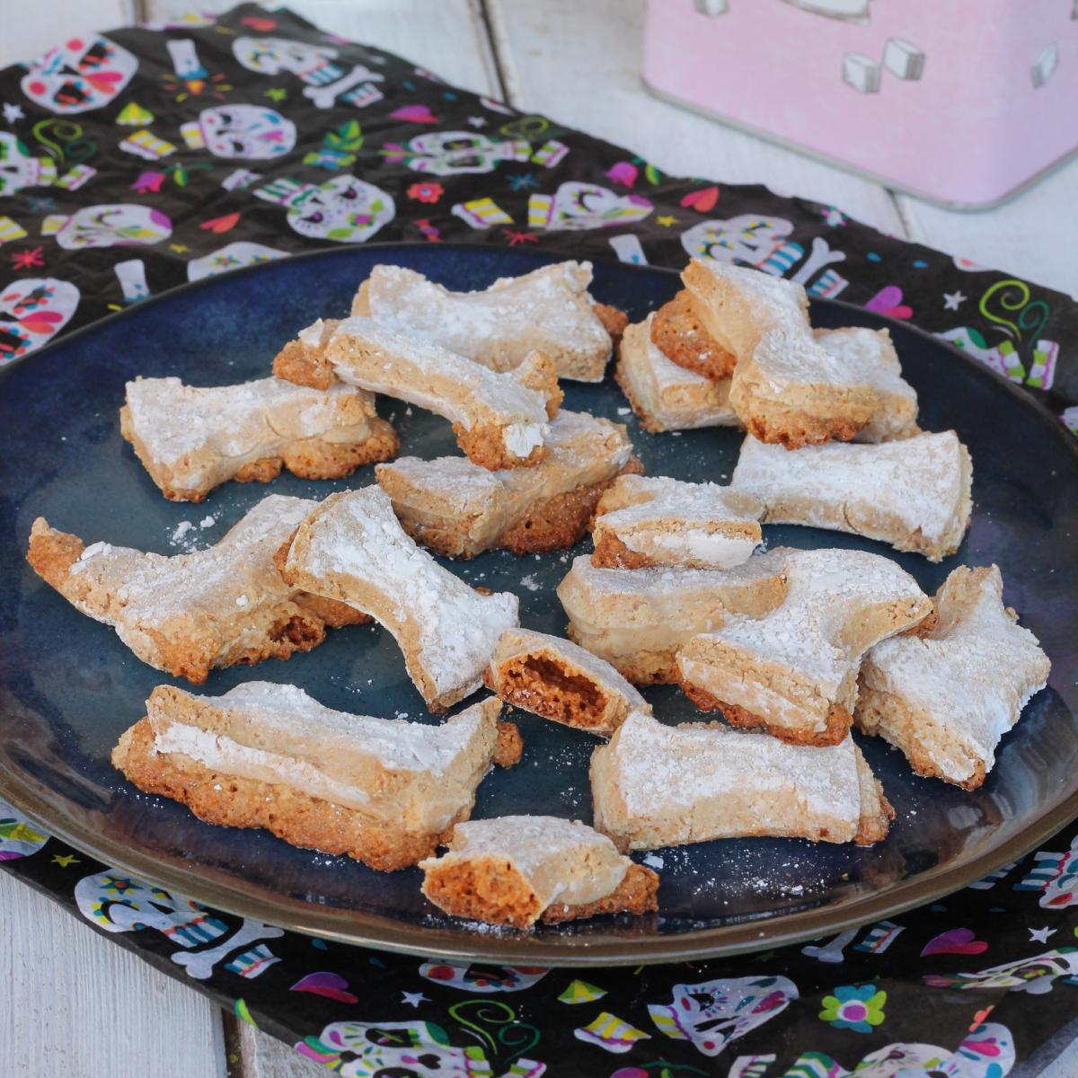 OSSA DEI MORTI biscotti tradizionali DOLCI per commemorare i defunti