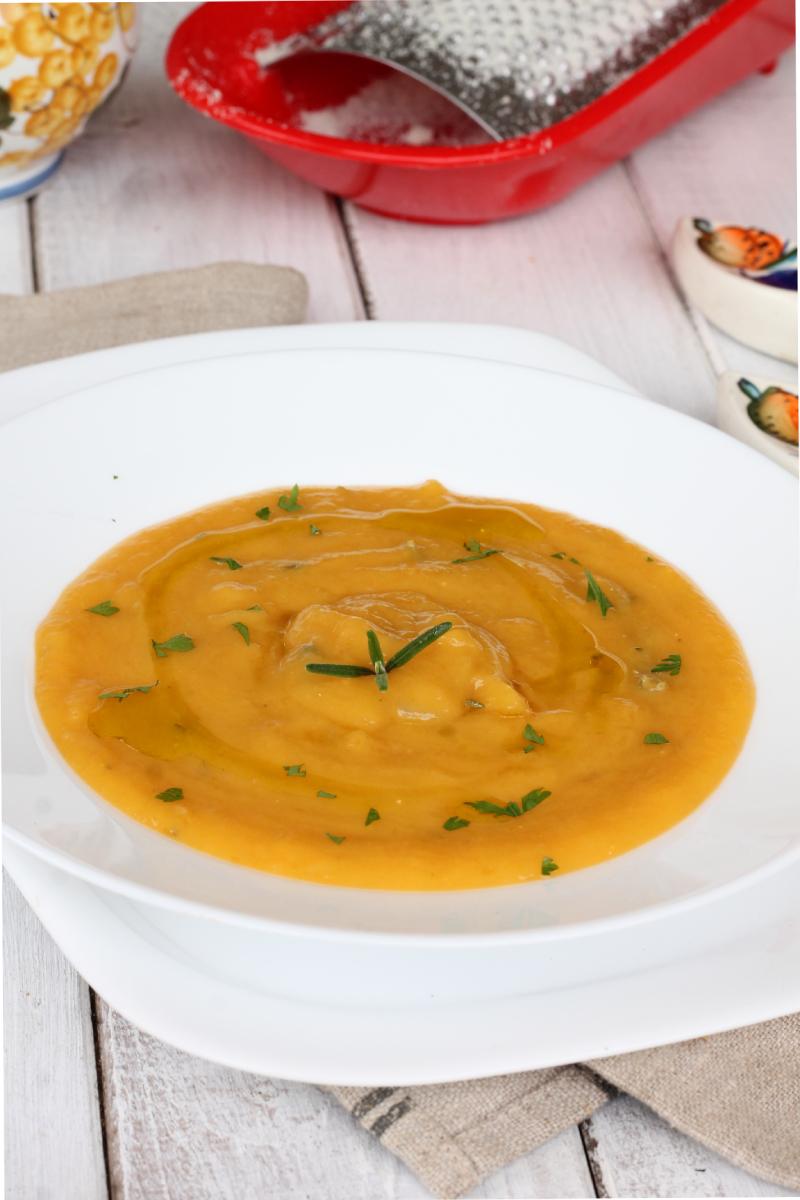 VELLUTATA ZUCCA ricetta vellutata zucca e patate | crema di zucca