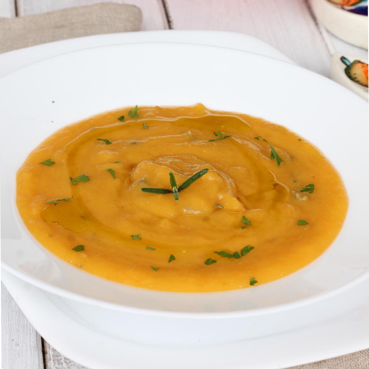 VELLUTATA DI ZUCCA ricetta vellutata zucca e patate | crema di zucca