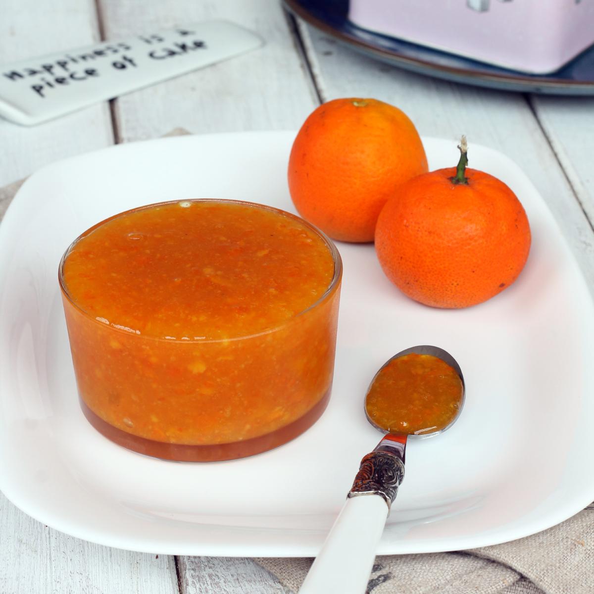 MARMELLATA di MANDARINI SENZA BUCCIA   marmellata di clementine