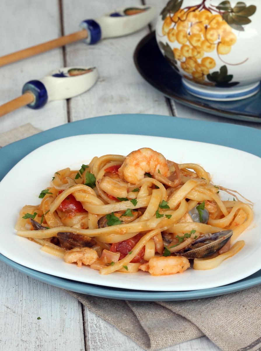 SCIALATIELLI ai FRUTTI di MARE ricetta scialatielli allo scoglio napoletani