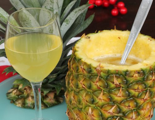 COCKTAIL CON ANANAS