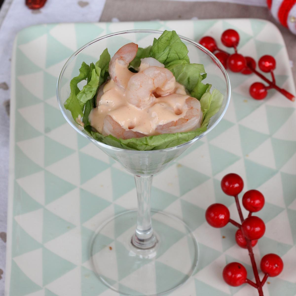 COCKTAIL DI GAMBERI ricetta gamberi in salsa rosa | cocktail gamberetti
