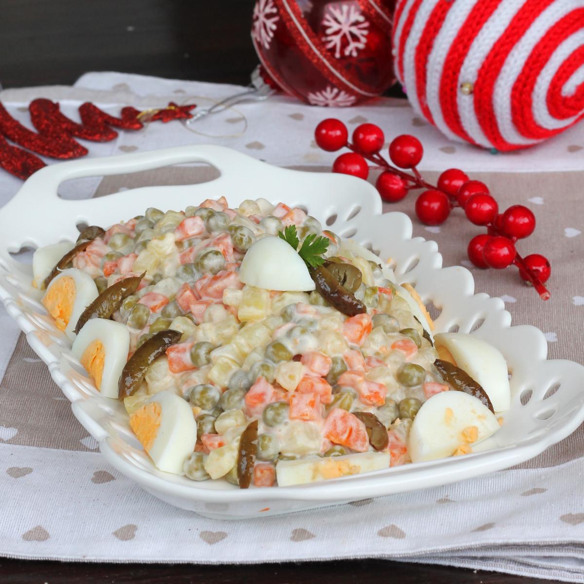 INSALATA RUSSA ingredienti e ricetta insalata russa | ricetta originale