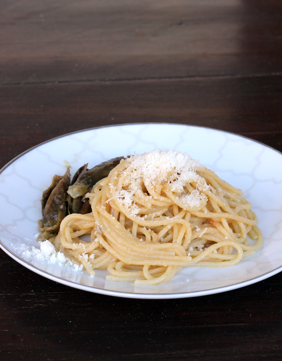 PASTA CON CARCIOFI ricetta riciclo pasta carciofi e pecorino |primo furbo