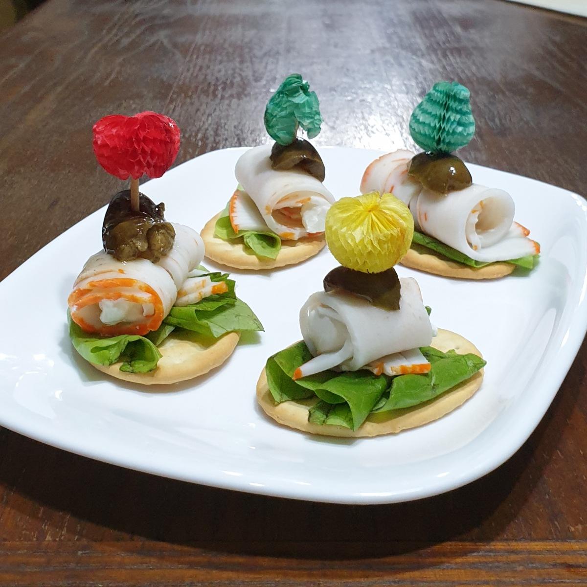 CROSTINI DI PESCE ricetta crostini con pesce fredde | aperitivo veloci