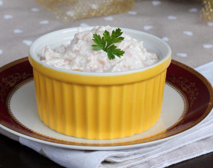 SALSA AL PROSCIUTTO COTTO crema di prosciutto cotto con maionese