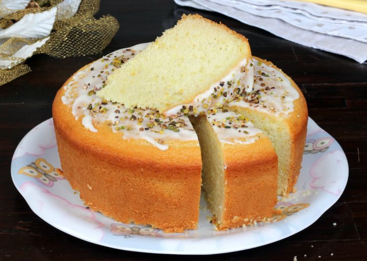 TORTA AL LIMONE CON GLASSA torta glassata al limone | torta soffice