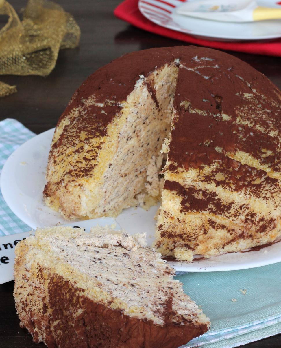 ZUCCOTTO SEMIFREDDO AL TORRONCINO torta gelato al torrone