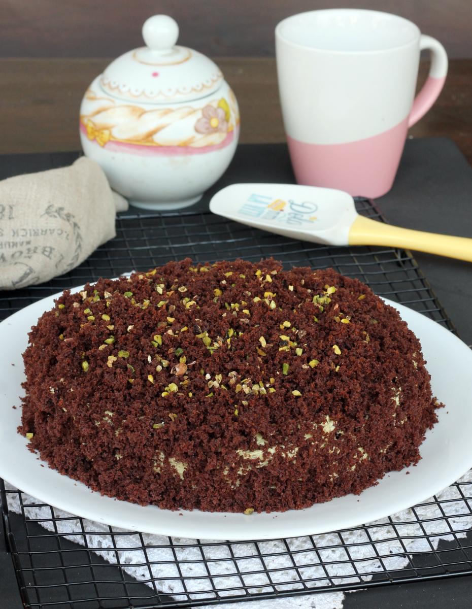 TORTA MIMOSA al PISTACCHIO e cioccolato |torta con crema di pistacchi