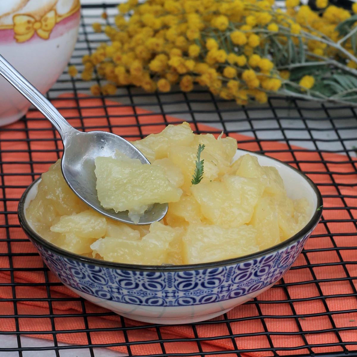 COME FARE ANANAS PER TORTA MIMOSA ricetta base mimosa ananas