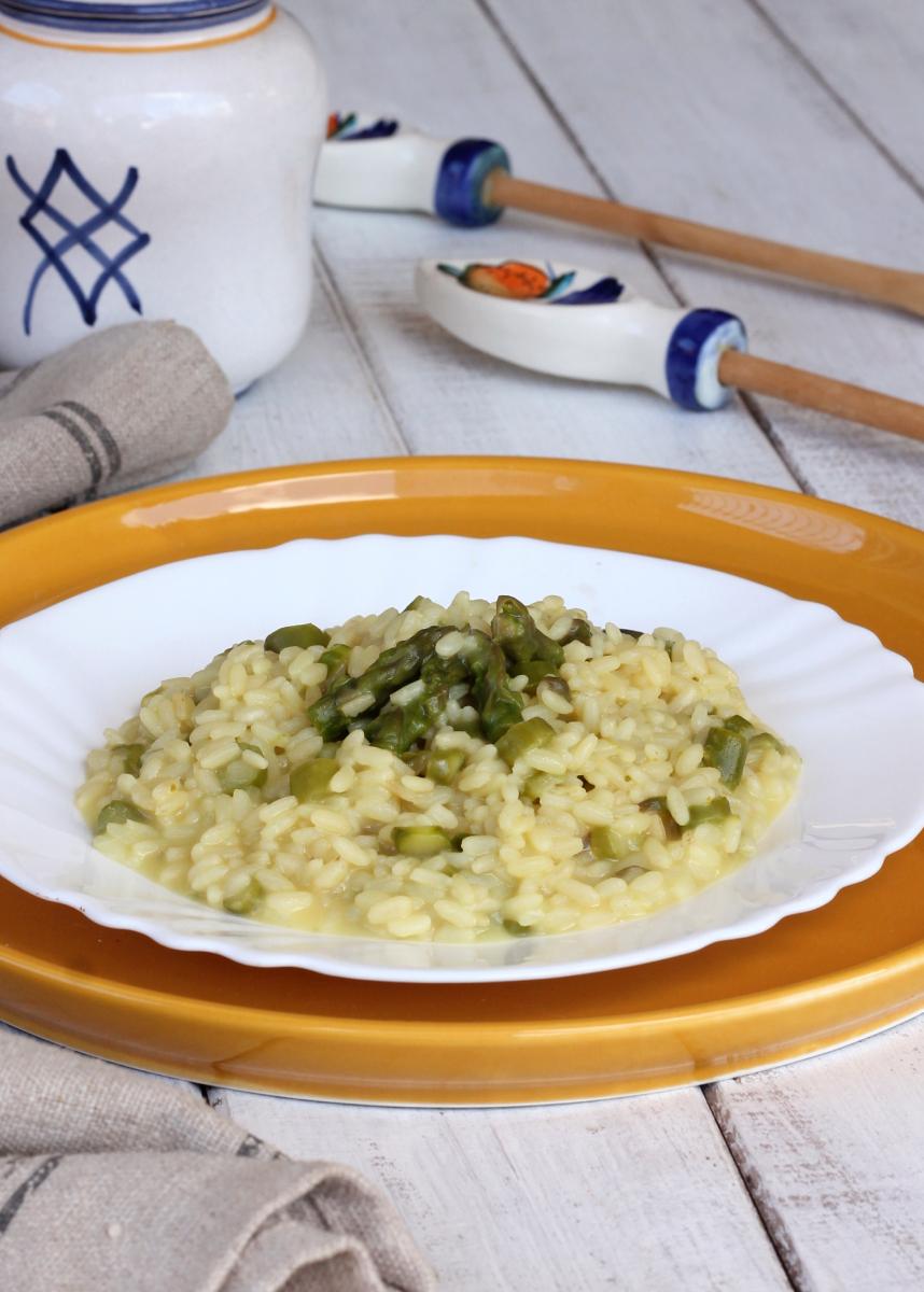 RISOTTO AGLI ASPARAGI risotto di asparagi cremoso | risotto semplice