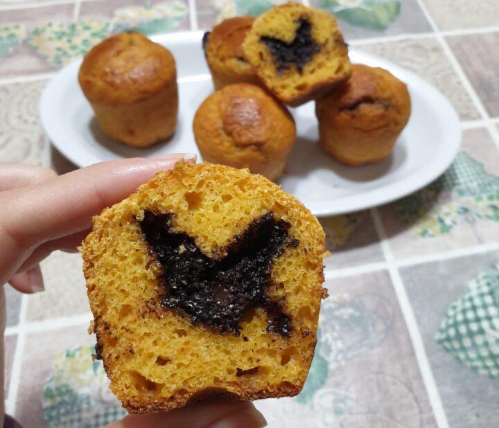 MUFFIN ALLE CAROTE LIGHT ricetta muffin all' acqua arancia e carote