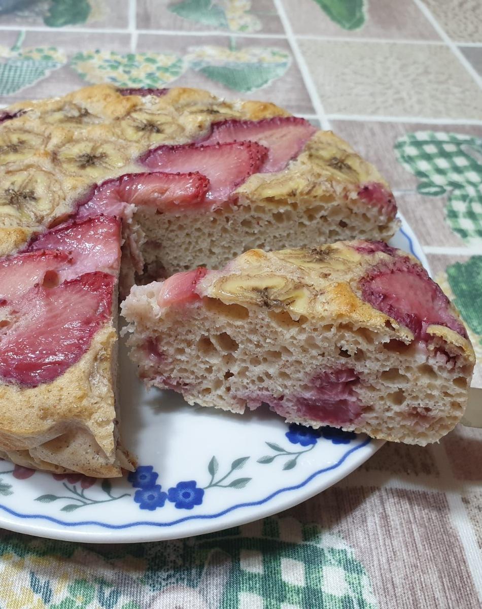 TORTA LIGHT ALLE FRAGOLE ricetta torta leggera alle fragole con albumi