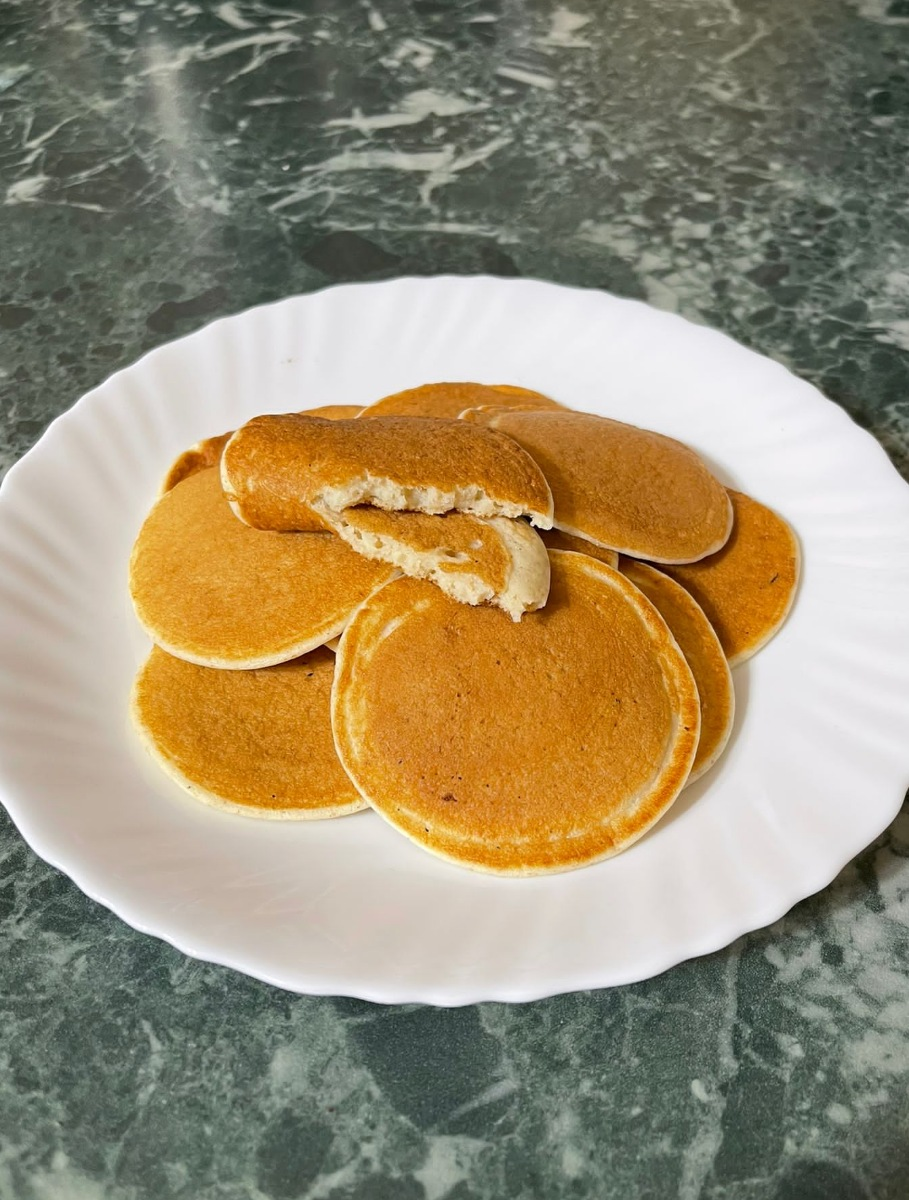 PANCAKE LIGHT ricetta pancake dietetici | pancake con acqua dolci veloci