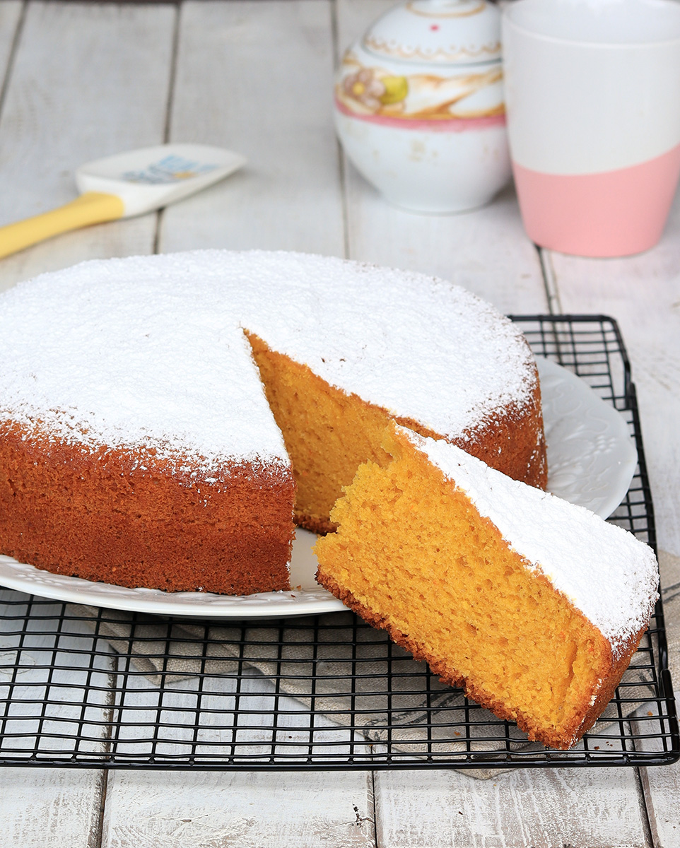TORTA ACE ricetta torta arancia carote e limone senza burro | torta soffice