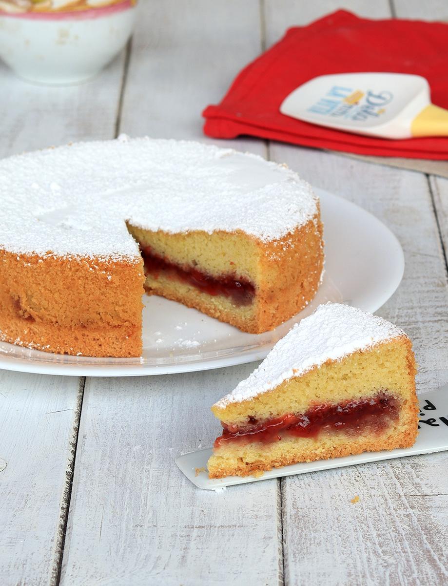 TORTA VERSATA torta furba con marmellata | torta versata alla marmellata