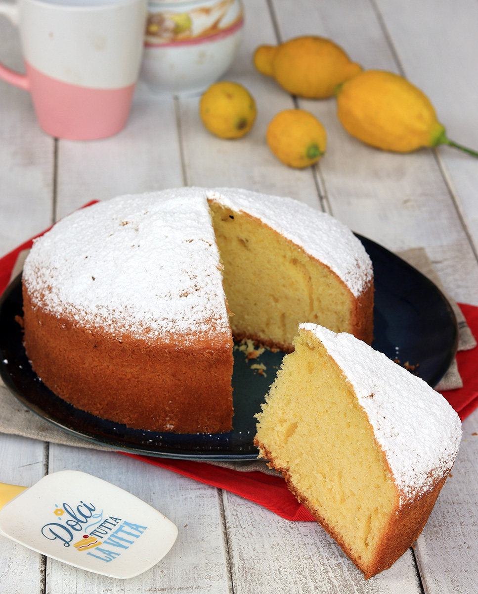 TORTA AL LIMONE morbidissima e profumatissima | torta al limone facile