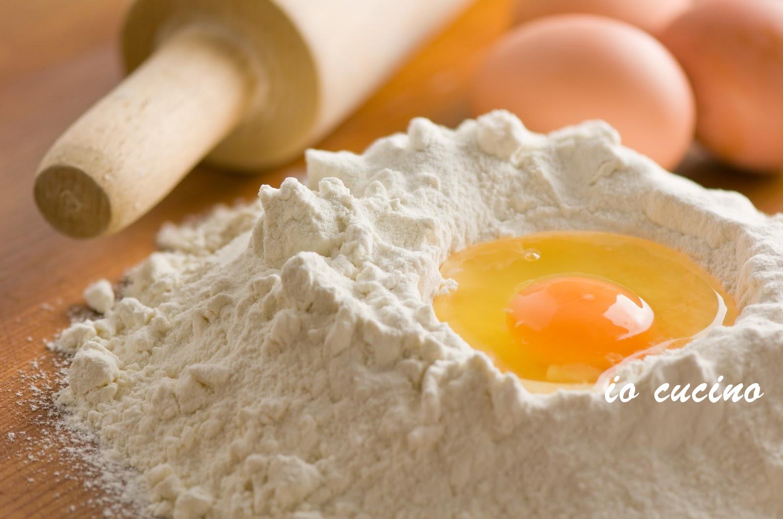 Impasto per pasta fresca all'uovo ripiena