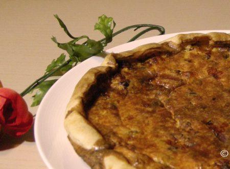 Torta rustica salsiccia, finocchio e funghi | Ricetta torte salate