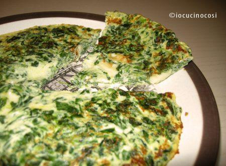 Omelette spinaci e formaggio | Ricetta facile