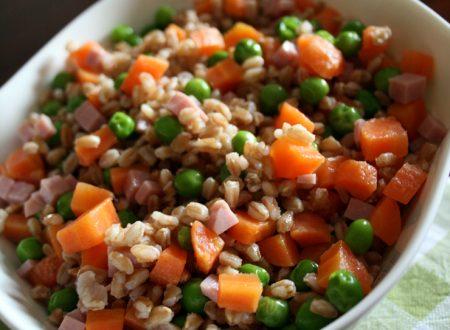 Insalata farro e verdure
