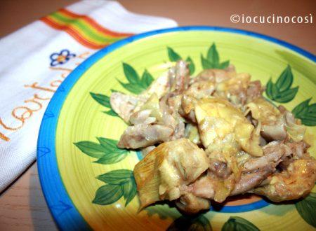 Pollo al curry con carciofi | Ricetta light