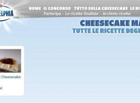 Finalista al concorso Cheesecake mania :)