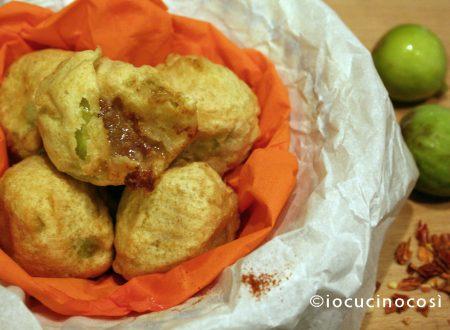 Frittelle di fichi piccanti | Ricetta frittura