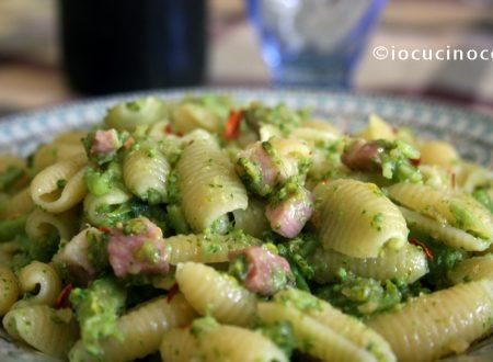 Gnocchetti sardi con broccoli e pancetta | Ricetta primo piatto