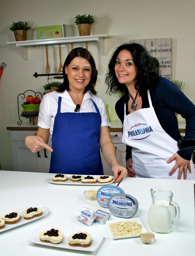 Io e Sonia Peronaci