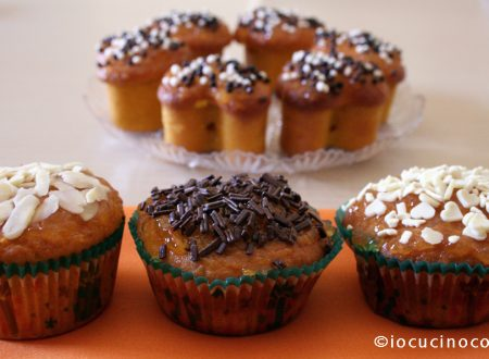 Muffin zucca e mandorle | Ricetta dolce