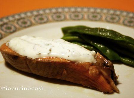 Salmone con salsa al limone | Ricetta secondo di pesce