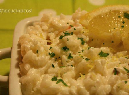 Riso al limone | Ricetta light veloce
