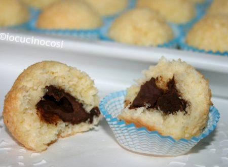 Dolcetti cocco e cioccolato | Ricetta veloce