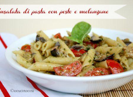 Insalata di pasta con pesto e melanzane – Ricetta primo estivo