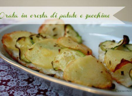 Orata in crosta di patate e zucchine – Ricetta secondo di pesce