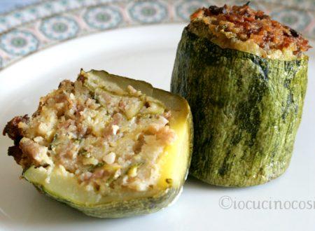 Zucchine ripiene con salsiccia – Ricetta gustosa