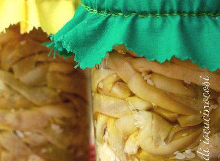 Zucchine sottolio – Ricetta con aceto senza cottura