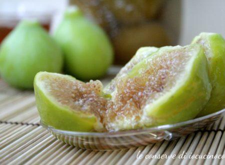 Fichi sciroppati al rum – Ricetta conserva di frutta