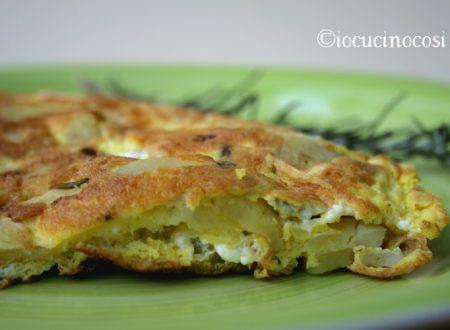 Frittata di patate e porri con gorgonzola – Ricetta gustosa