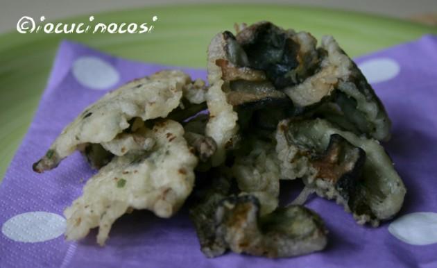 Chiodini e rositi fritti in pastella - Ricetta con i funghi