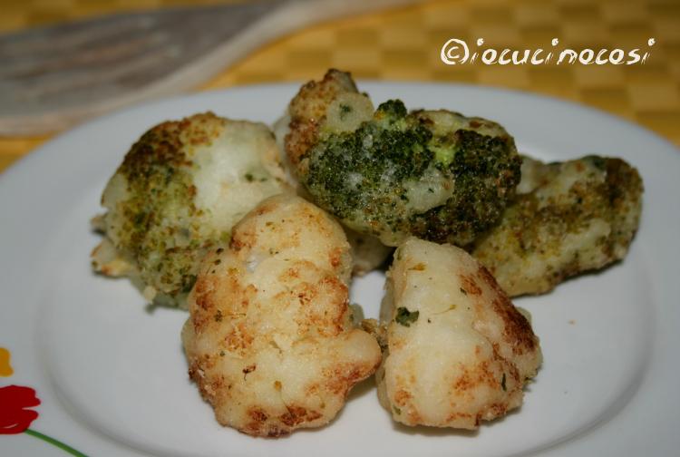 Cavolfiori e broccoli fritti in pastella croccante