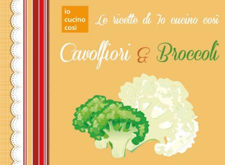 Ricettario gratis da scaricare – Ricette con Broccoli e Cavolfiori