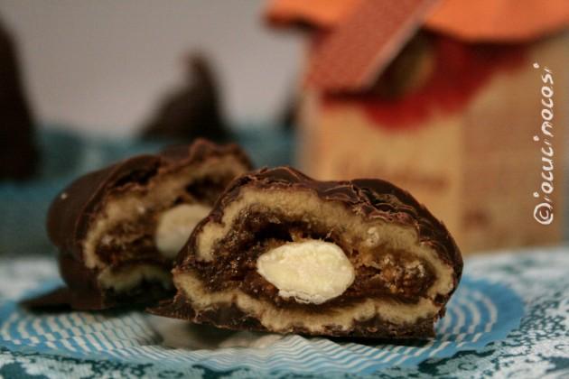Fichi secchi ricoperti di cioccolato con gelatina di aceto balsamico